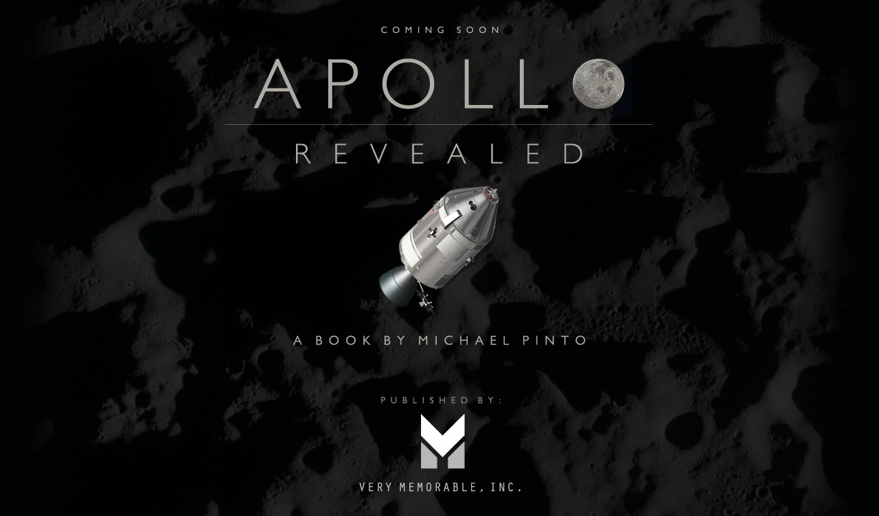 Coming Soon: Apollo Revealed: A Book by Michael Pinto
